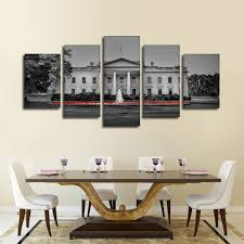 The White House Pop Multi Panel Canvas Wall Art