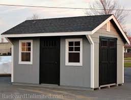 10x14 Garden Shed Plans by Sheds Quaker Garden Backyard Unlimited