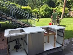 diy outdoorküche ikea hack rut morawetz outdoor küche