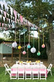 Backyard Party Ideas Gorgeous Garden Birthday Kids Blog Candyland For