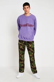Urban Renewal Vintage Originals British Camo Trousers