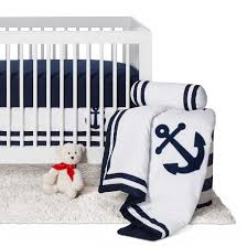 sweet jojo designs anchors away 11pc crib bedding set navy target