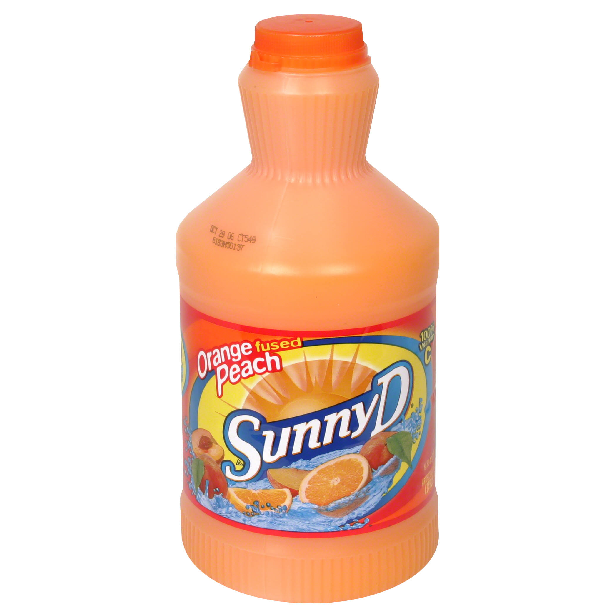 Sunny D Citrus Punch, Orange Fused Peach - 64 fl oz