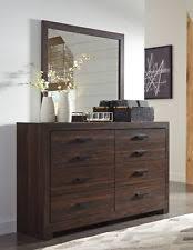 hayworth 6 drawer dresser with mirror brown ebay