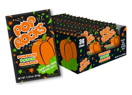 Pumpkin Patch Ct by Pop Rocks Pumpkin Patch Orange 36ct