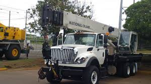 National Crane Boom Trucks Get Mine-ready At Pesco In Chile