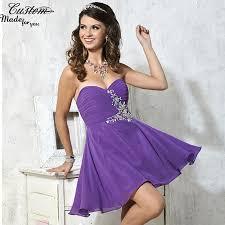 simple purple prom dress prom dress style