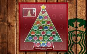 Starbucks Advent Calendar 2016