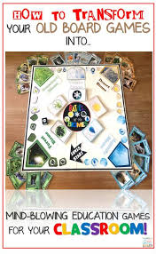 DIY Classroom Board Game