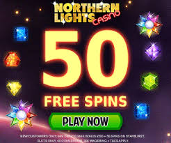 NORTHERN LIGHTS CASINO GIVES 50 FREE SPINS 19 APRIL