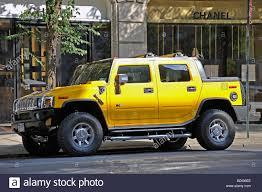 100 Hummer H2 Truck Yellow SUT In New York City Stock Photo 25557238 Alamy