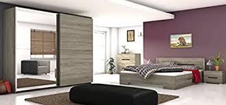 schlafzimmer komplett bett 83228 kleiderschrank 160x200cm