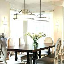 Lighting For Dining Room Table Ideas Light Fixtures Round Fixture Over