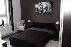 chambre gris noir et blanc chambre adulte noir et blanc maison design hosnya com