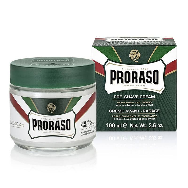 Proraso Refreshing Pre Shave Cream - 3.6oz