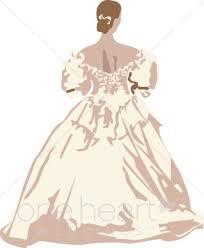 Antique Gown Clipart