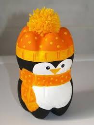 Plastic Bottle Penguin