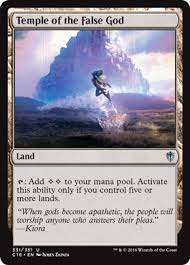 Competitive Edh Decks 2016 by Commander 2016 Spoiler Mtg Visual Spoiler