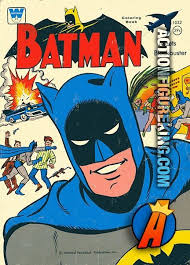 Vintage 1966 Coloring Book Batman Meets Blockbuster From Whitman