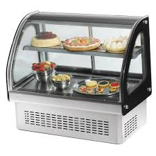 Countertop Bakery Display Cases Vollrath 40842 36 Curved Glass Drop In Refrigerated Cabineta 195 Awesome