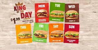Burger King Brings Back King Of The Day Offer Where A Burger ... Burger King Has A 1 Crispy Chicken Sandwich Coupon Through King Coupon November 2018 Ems Traing Institute Save Up To 630 With All New Bk Coupons Till 2017 Promo Hhn Free Burger King Whopper Is Doing Buy One Get Free On Whoppers From Today Craving Combo Meal Voucher Brings Back Of The Day Offer Where Burger Discounted Sets In Singapore Klook Coupons Canada Wix Codes December