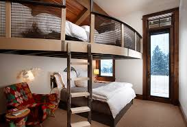 bunk beds for adults bedroom modern with bunk beds guest room