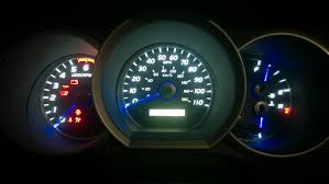 modified my 2007 limited dash cluster lighting 4runner