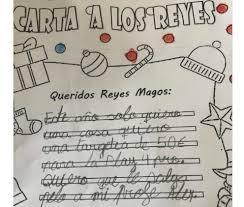 Cartas A Los Reyes Magos RedAIEP