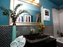 Gray And Teal Bathroom by Photo Page Hgtv