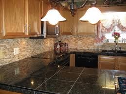 Kitchen Backsplash With Oak Cabinets by Rustic Kitchen Backsplash Captainwalt Com