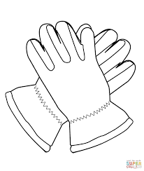 Click The Gloves Coloring