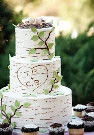 Outdoor Wedding Cake Say Yes To These Themed Rustic Cakes Garden Pictures