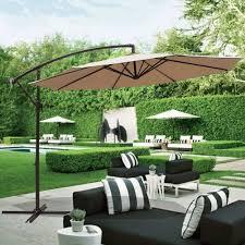 10 Ft Patio Umbrella Offset Hanging Outdoor Market