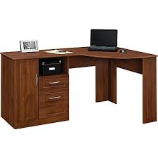 Monarch Specialties Corner Desk Brown by Corner Desks L Desk U0026 Computer Corner L Desk Staples