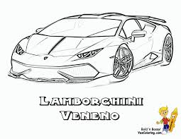 Lambo Coloring Pages Rugged Exclusive Lamborghini Cars Free Disney