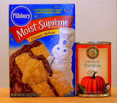 Pumpkin Spice Bundt Cake Using Cake Mix by Two Ingredient Pumpkin Cake With Apple Cider Glaze Noble Pig