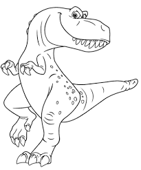 Click To See Printable Version Of Ramsey From The Good Dinosaur Coloring Page