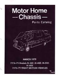 100 Dodge Truck Parts Oem OEM Book Class A Motorhome Chassis 19781979 EBay