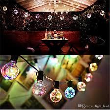 globe string lights with g40 bulbs outdoor garden patio