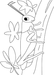Grasshopper On A Walk Coloring Pages