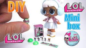 DIY Miniature LOL Surprise Dolls Series 2 Box