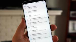 How to use Samsung Galaxy S8 s always on display