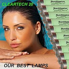 24 sunmaster cleartech 20 tanning ls bulbs