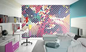 des articles la chambre d ado inspiration avec le papier peint
