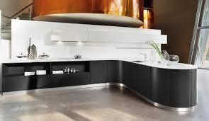 design einbauküche systema 6000 schwarz weiss lack