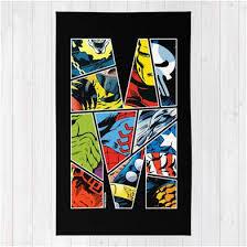 """Classic Marvel ics Superhero Area Rug """""""