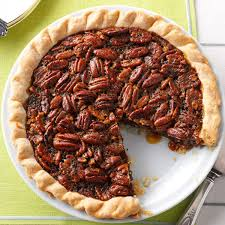 Best Pumpkin Pie With Molasses by Molasses Bourbon Pecan Pie Recipe Taste Of Home