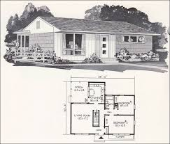 The Retro Home Plans by Mid Century Modern House Plans Mid Century Modern Plan