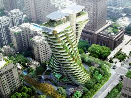 100 Apartments In Taiwan S Agora Garden Smogeating Tower Will Feature Luxury