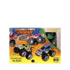 Creativity For Kids Monster Trucks Custom Shop 4 Truck Kit (1166 ... Monster Truck Stunt Videos For Kids Trucks Nice Coloring Page For Kids Transportation Learn Colors With Cute Tires Parking Carl The Super And Hulk In Car City Cars Garage Game Toddlers Cartoon Original Muddy Road Heavy Duty Remote Control Vehicles 2 Android Free Download 4 Police Racing Games Tap A Monster Truck Big Big Ideas Group Watch Creech On Roof Exclusive Movie Clip